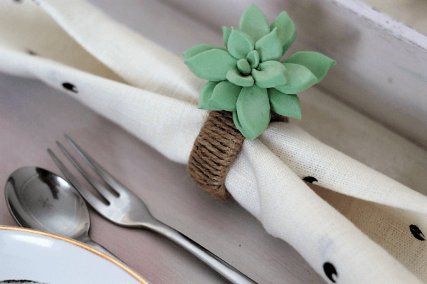 homemade napkin rings