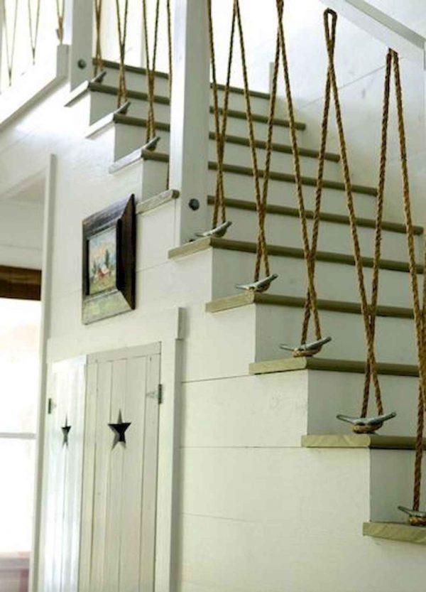 Diy stair handrail