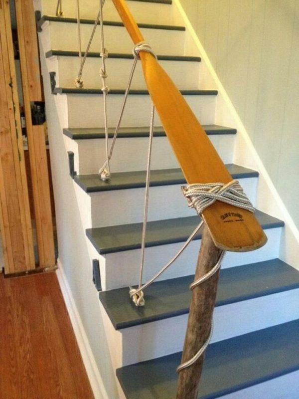 creative stair railings
