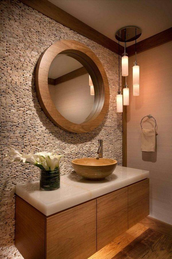 circle bathroom mirrors