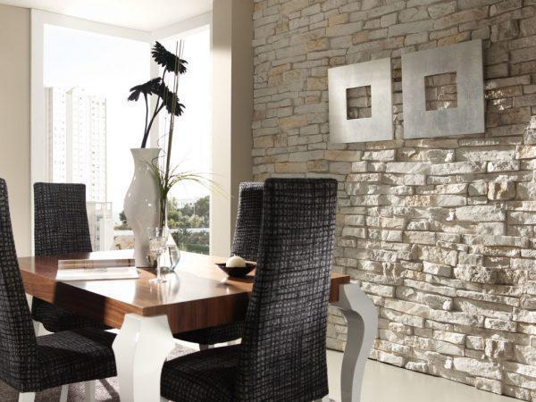 modern stone walls
