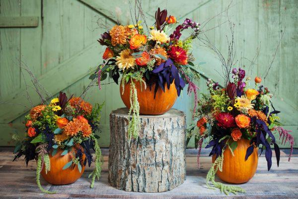 pumpkin centerpieces for wedding