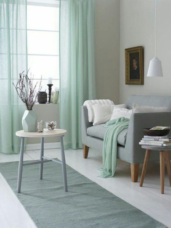 Mint green decor