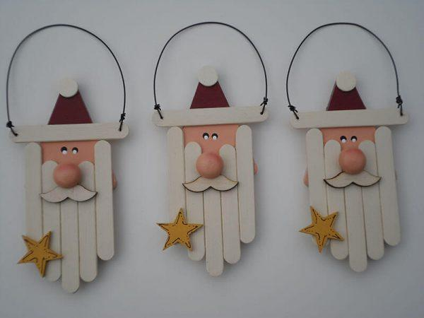 popsicle stick christmas ornaments to make