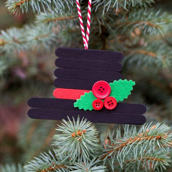 easy popsicle stick crafts for christmas