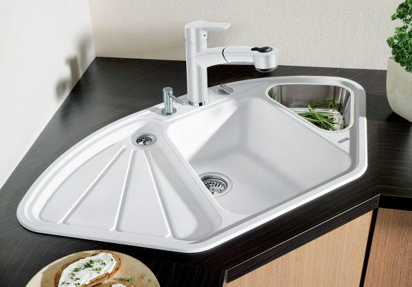 corner sink for kitchen