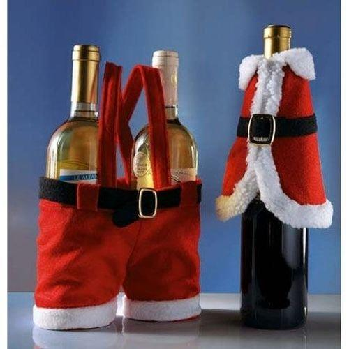 christmas wine bottle crafts
