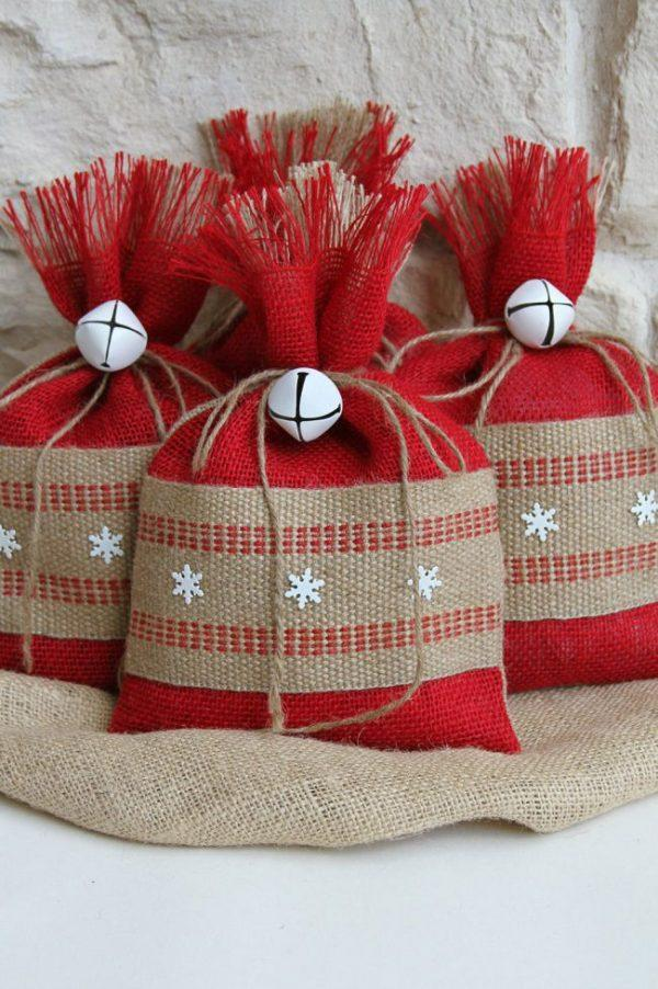 diy christmas gift bags ideas