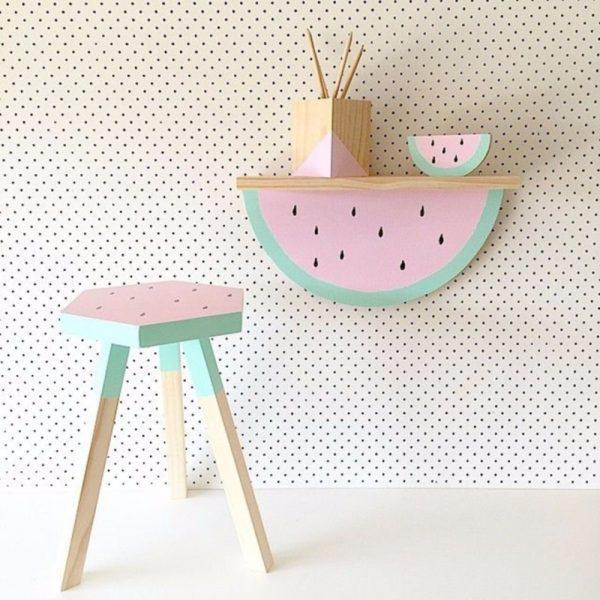 Watermelon room decor