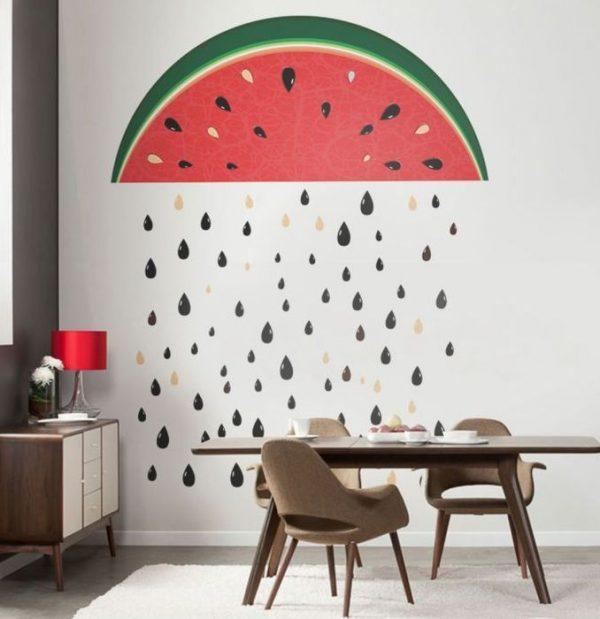 watermelon wall decor