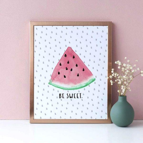 watermelon art and craft