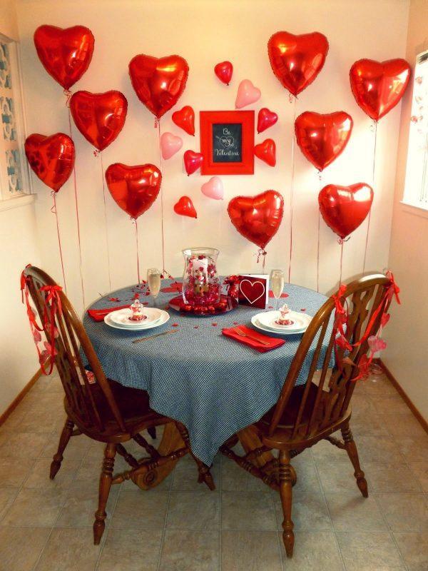 valentine's day balloon decorations