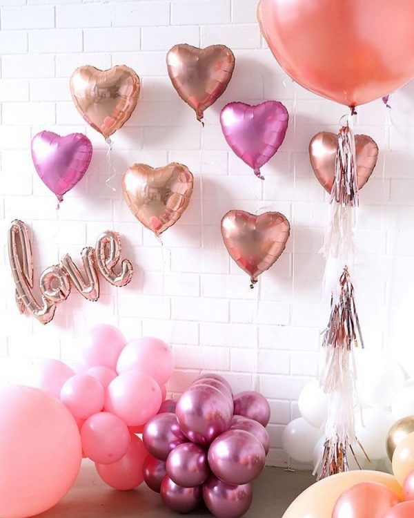 valentine's day themed party