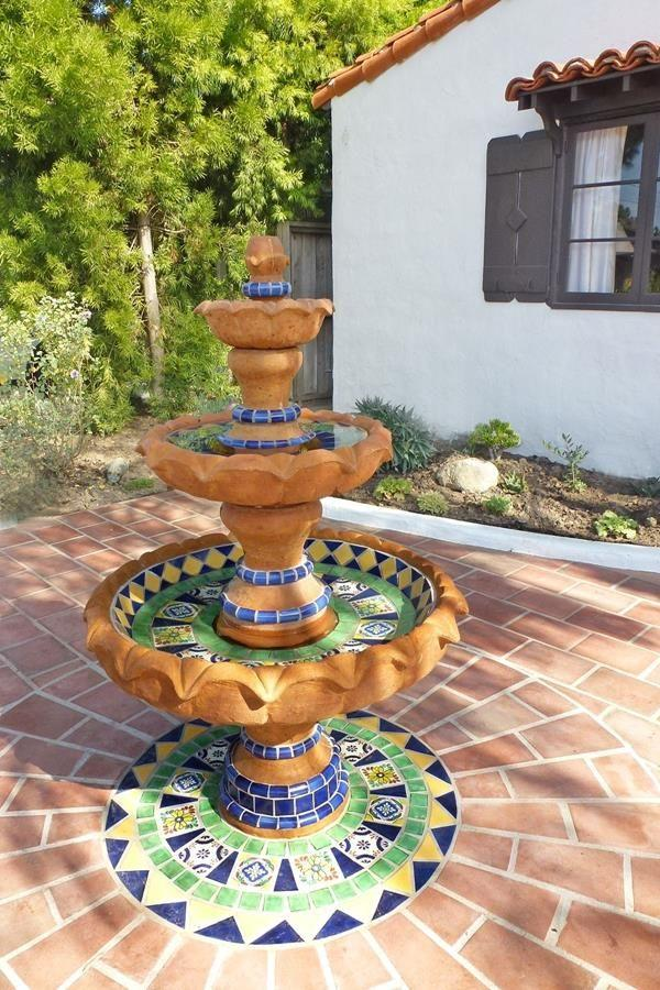 mexican garden fountain