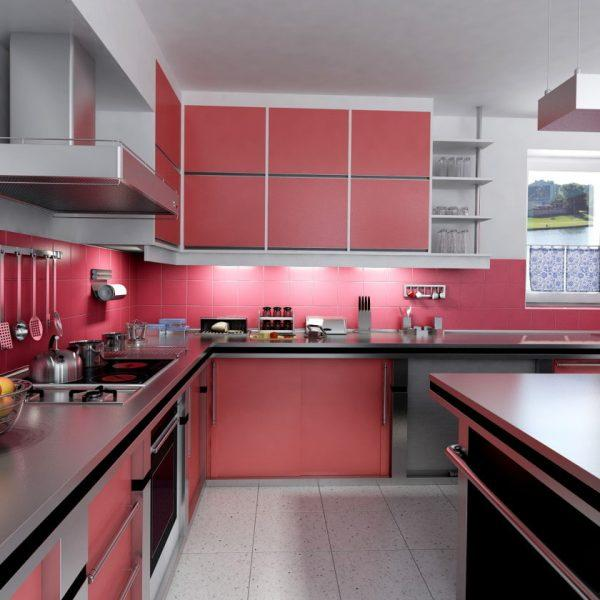 pink kitchen inspiration