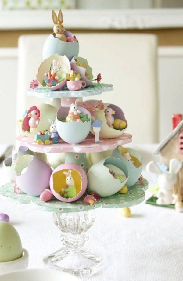 egg shell decoration