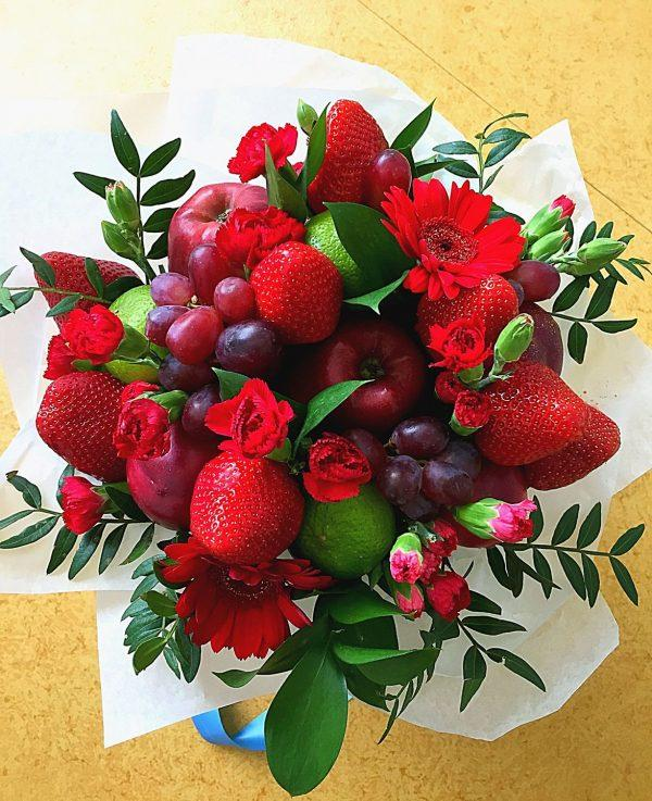 fruit flowers bouquet