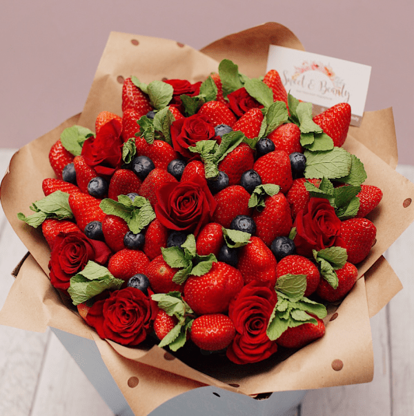 fruit flowers gift ideas