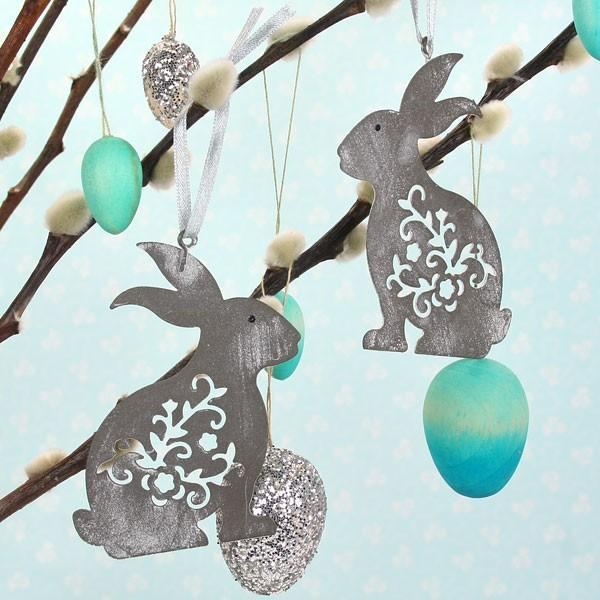Bunny decorations for easter