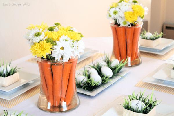 easter vases