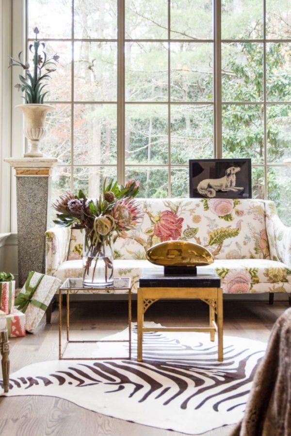 floral living room furniture