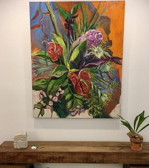 floral art paintings