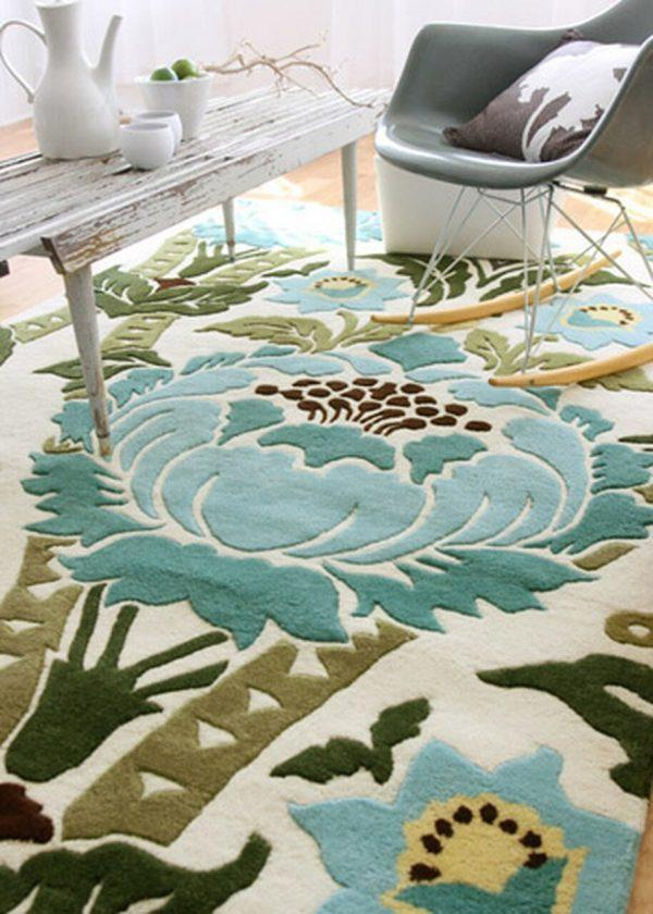 floral living room rugs