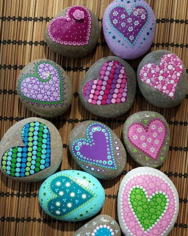 rock painting designs