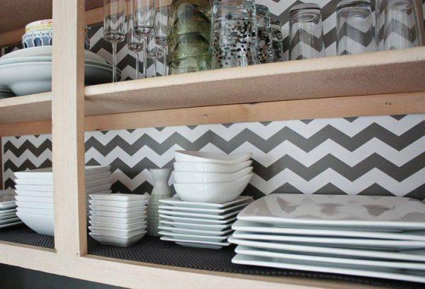 shelf liner ideas