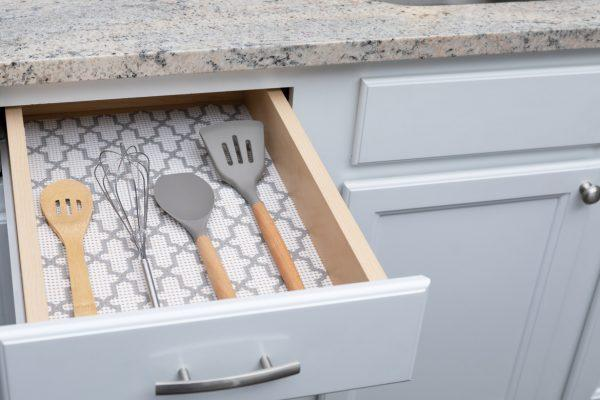 kitchen drawer liner ideas