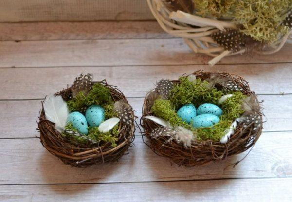 easter nest diy