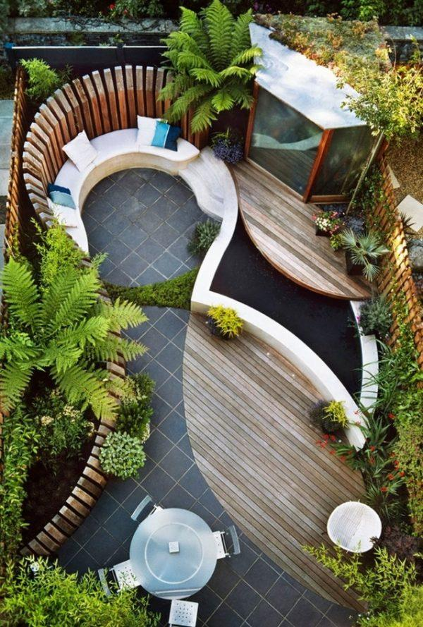 narrow garden landscape ideas