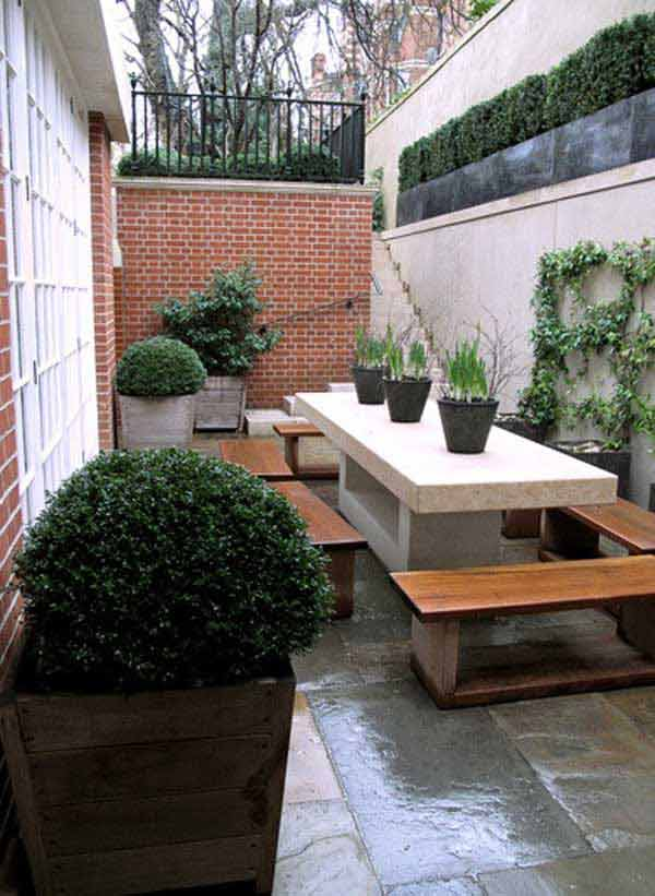 narrow very small garden ideas on a budget