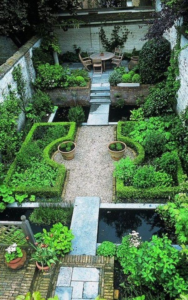 Narrow garden ideas 1