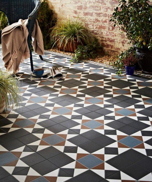 decorative tiles for garden