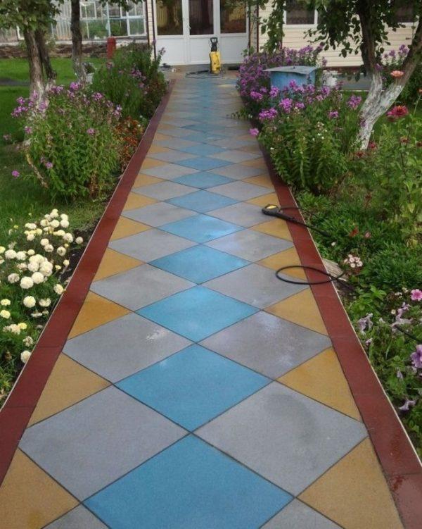 garden tiles design
