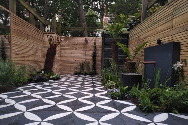 Decorative garden tiles 1