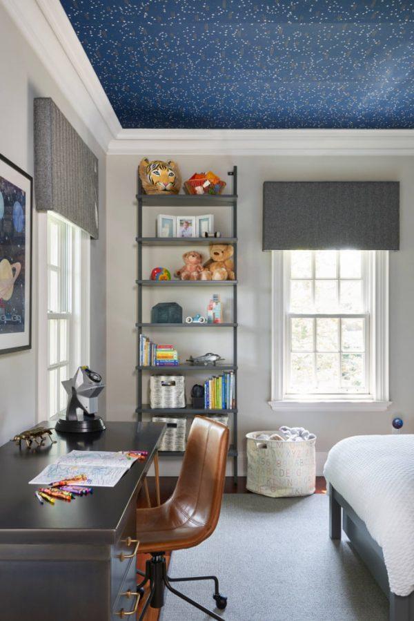 wallpaper ceiling design ideas