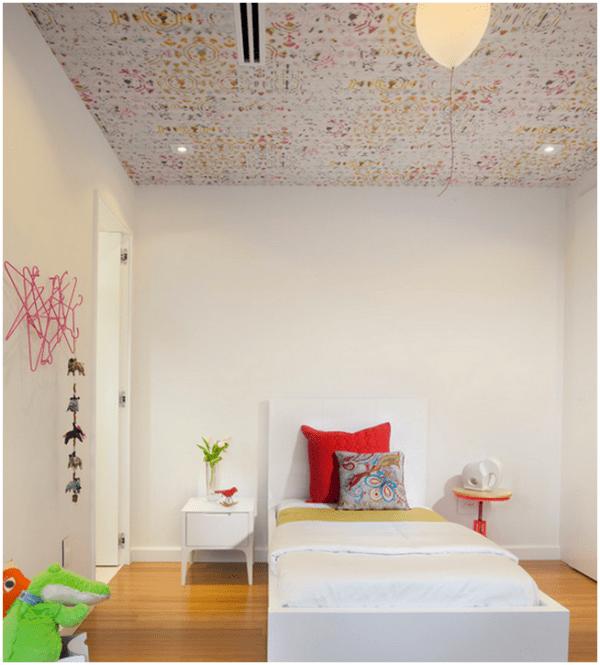 wallpaper ceiling design