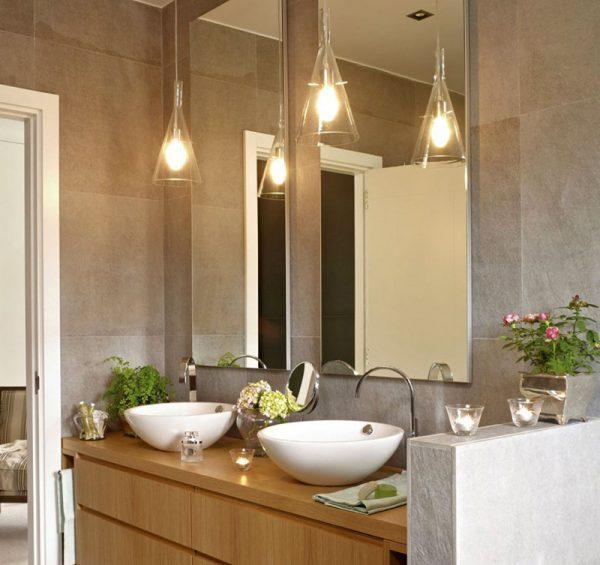 lighting ideas for bathroom