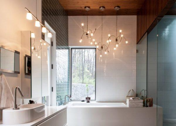 cool bathroom lighting ideas