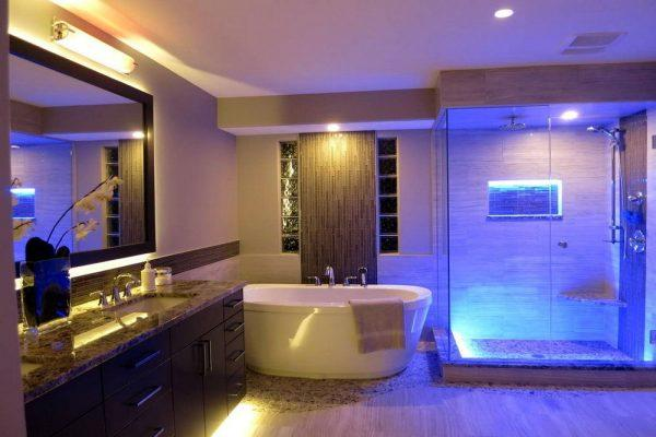 bathroom lighting design ideas