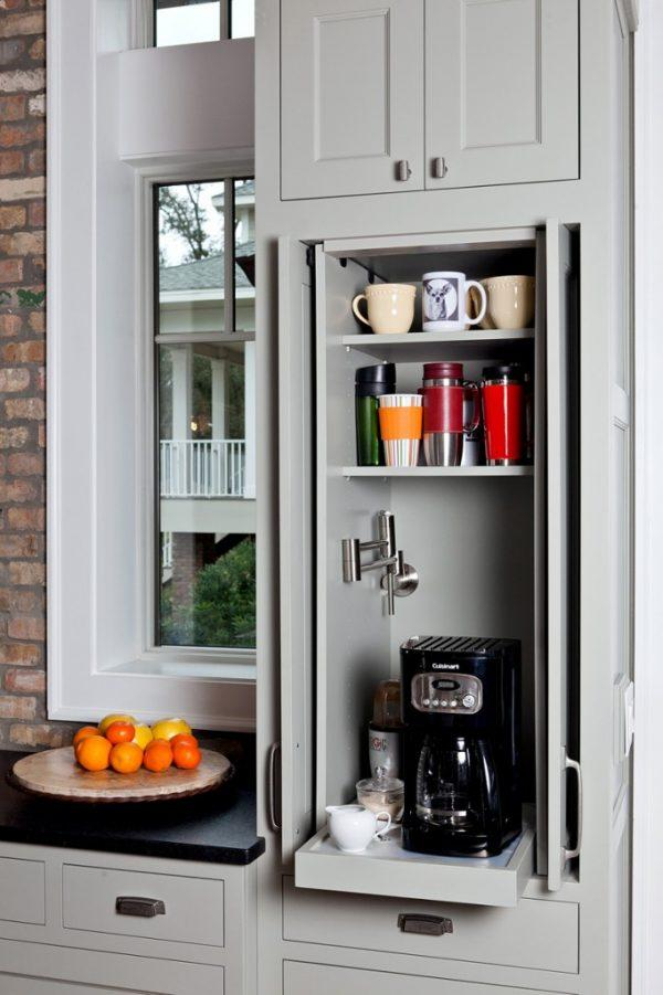 coffee station cabinet ideas