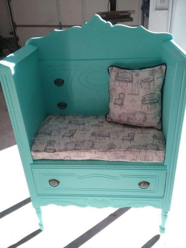 how to repurpose furniture