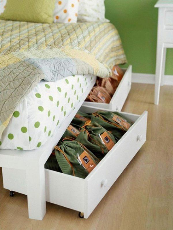 repurpose old furniture