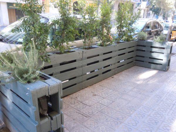 wood pallet fence diy