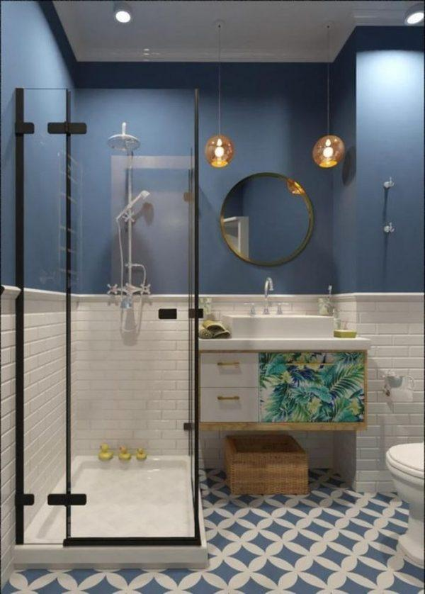 small bathroom ideas colours