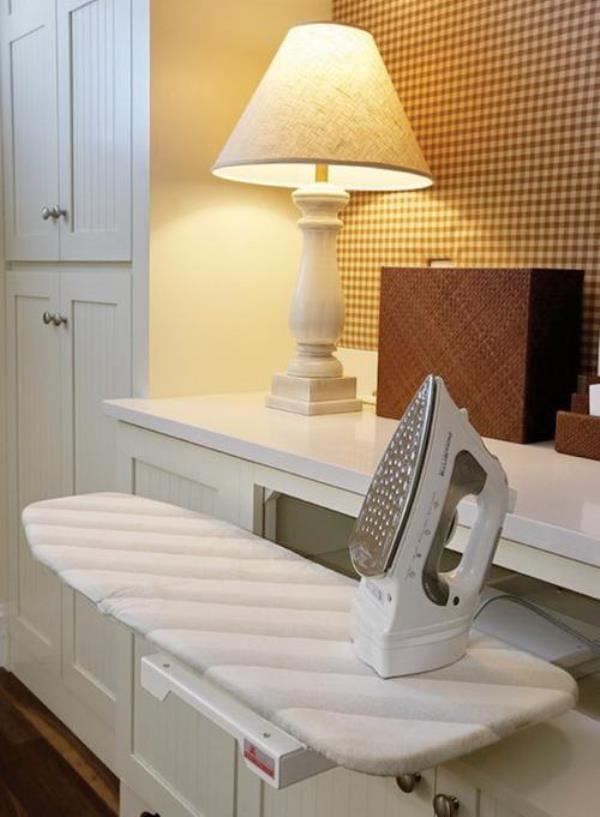 built in ironing board ideas