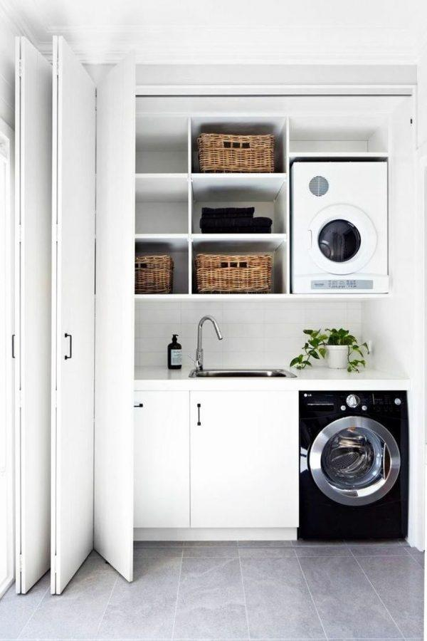 organization ideas for small laundry room
