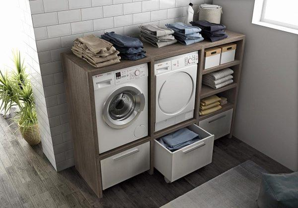 laundry storage ideas for small spaces
